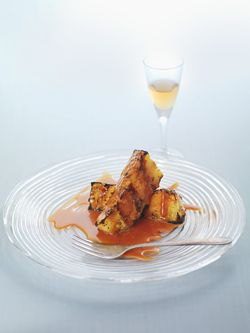 Recipe of the week: Grilled Pineapple with Caramel Sauce