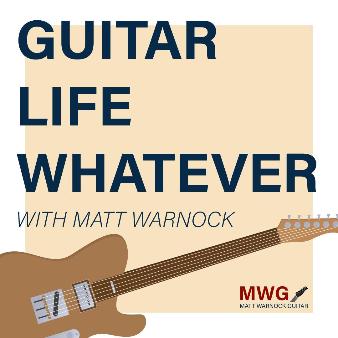 Guitar, Life, Whatever show art