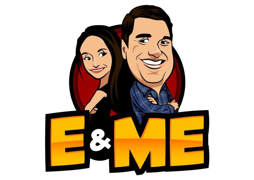 E and Me Podcast logo