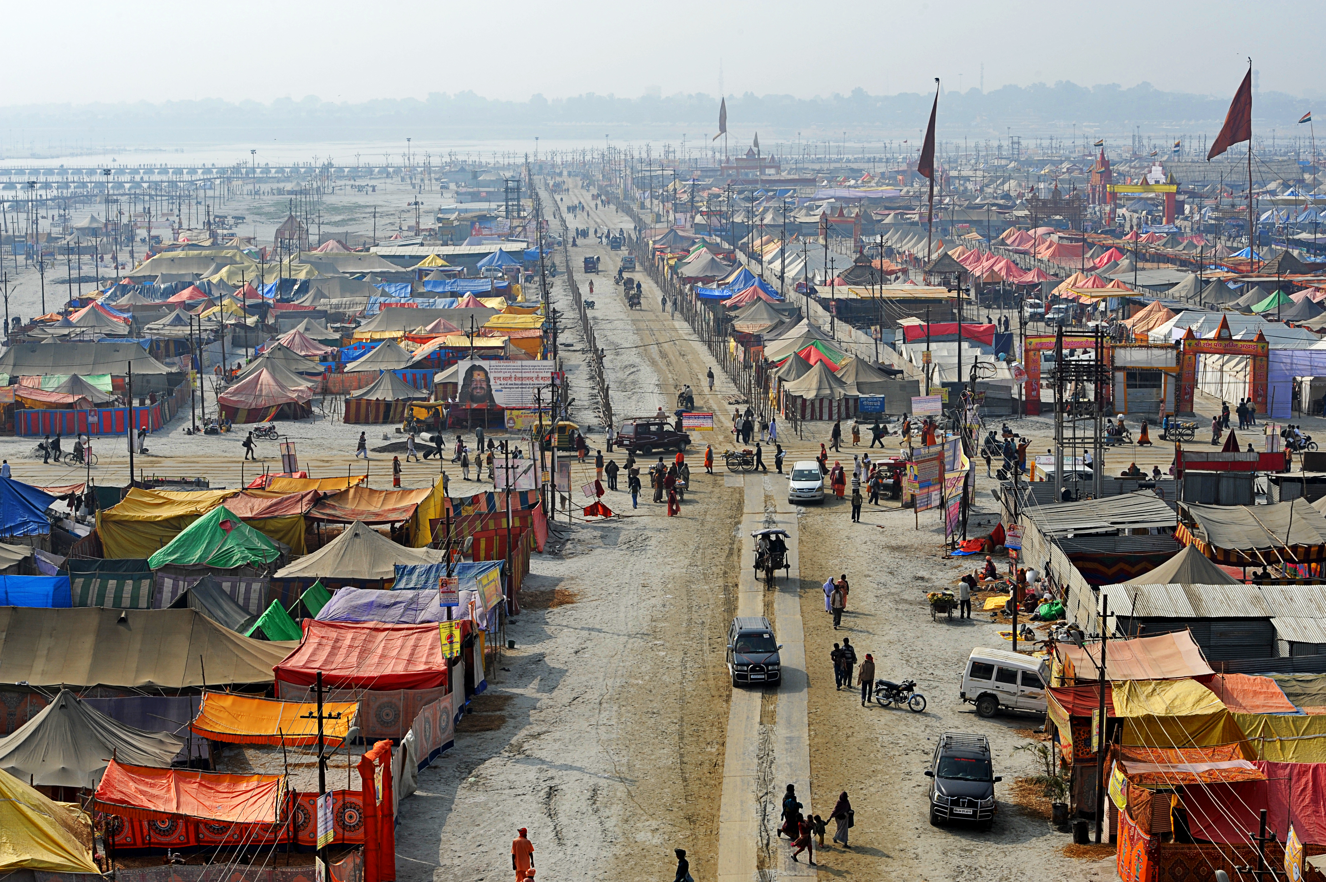 View of kumbh mela SOURCE Felipe Vera