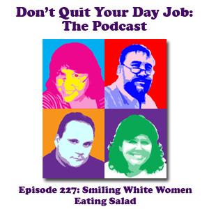 DQYDJ Ep 227: Smiling White Women Eating Salad