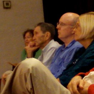 Ramsey Clark, Ann Wright, Kathy Kelly & Bill Quigley against drones and in support of Ron Faust and Brian Terrell