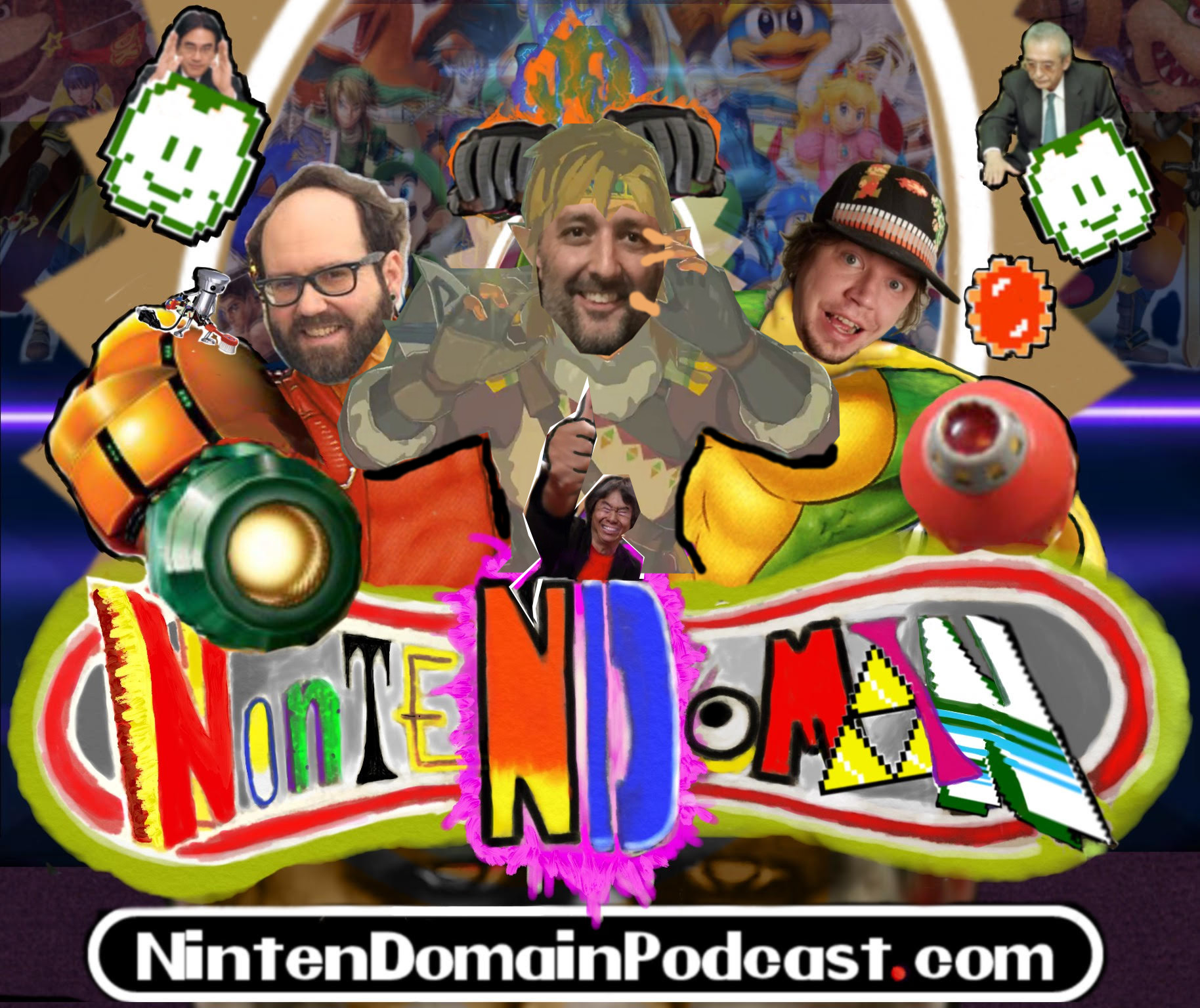 NintenDomain show art