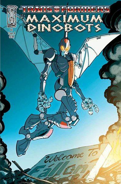 Iaconic Reviews Maximum Dinobots #3