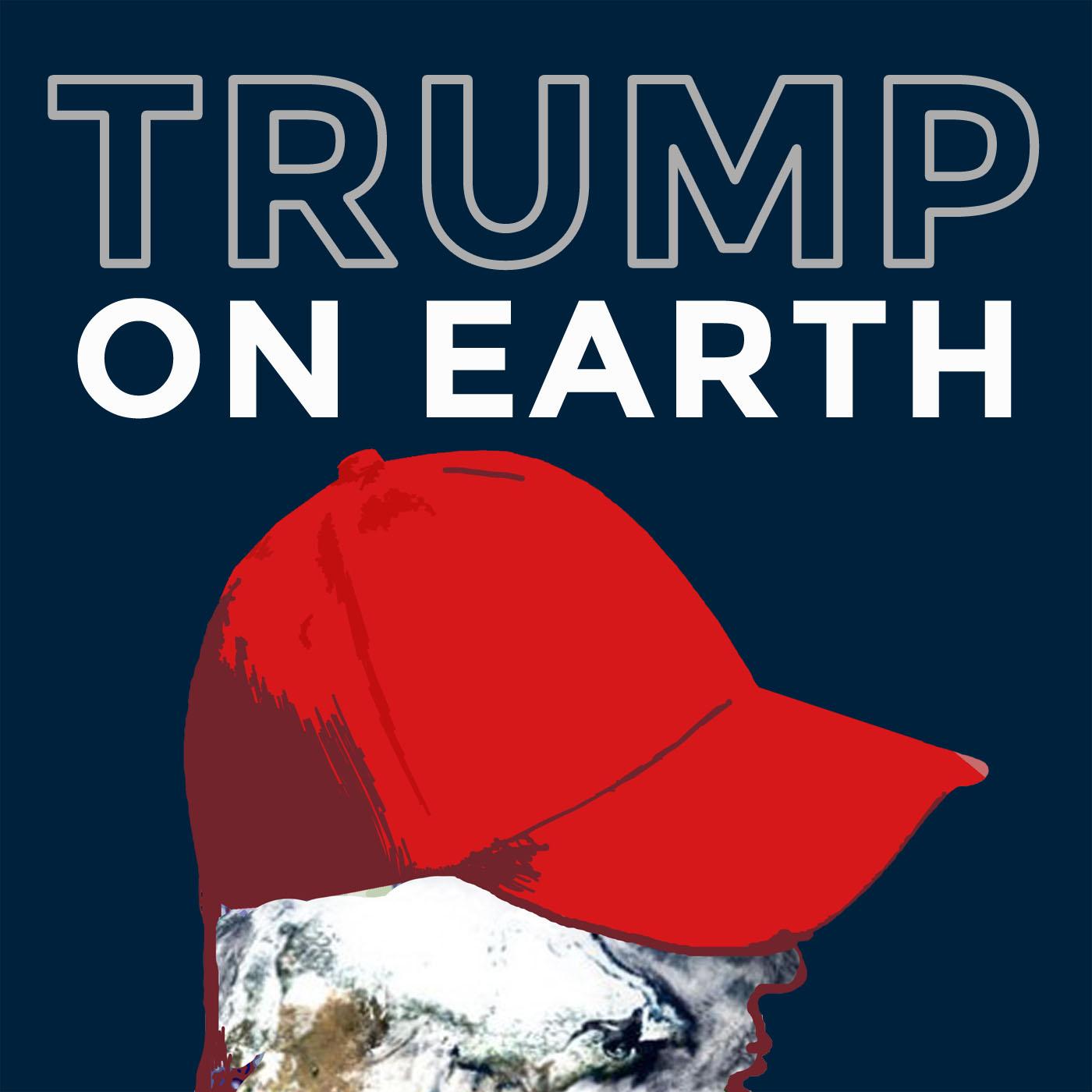 Trump on Earth show art