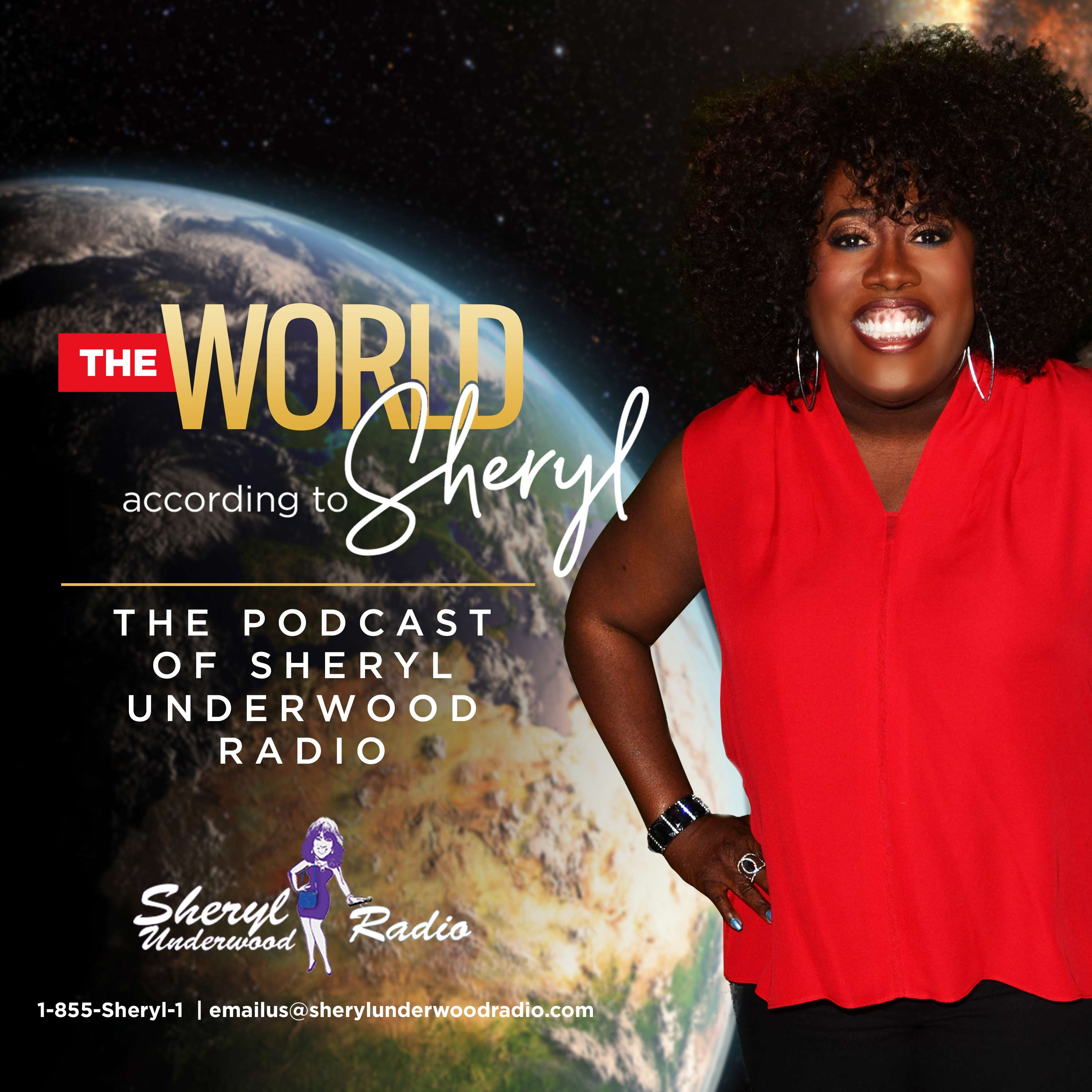 The Sheryl Underwood Podcast Ep. 6 show art