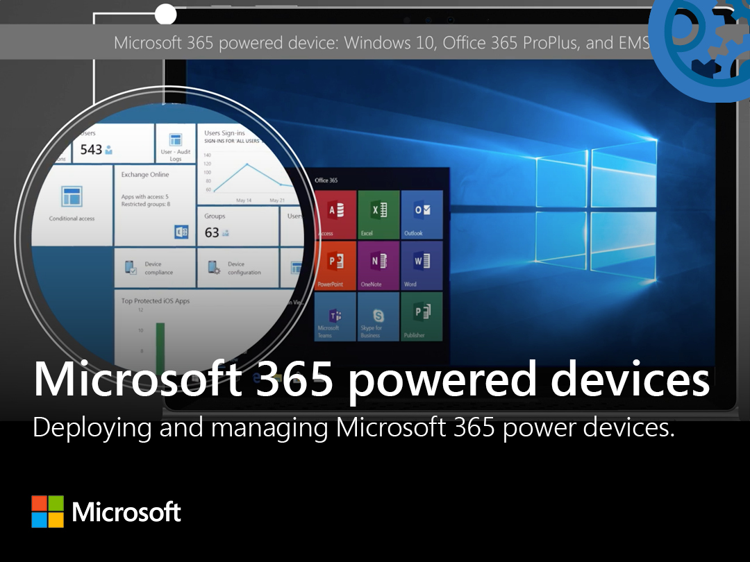 Artwork for Microsoft 365 Powered Devices