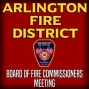 Artwork for January 9, 2017 Board of Fire Commissioners Special Meeting : Arlington Fire District