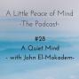 Artwork for Episode 28: A Quiet Mind - with John El-Mokadem