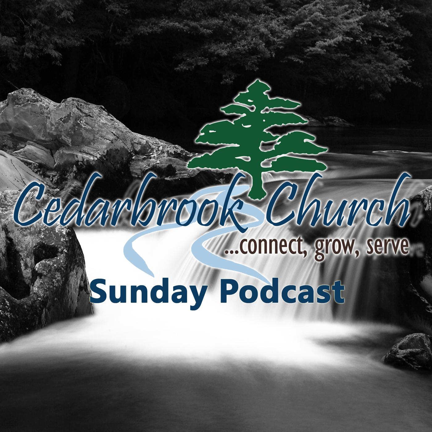 Cedarbrook Church Sunday Podcast logo