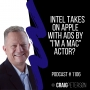 Artwork for Tech Talk with Craig Peterson Podcast: Intel, Apple, DDoS, BEC, Ransomware, Hackers, Third-Party Vendors and more