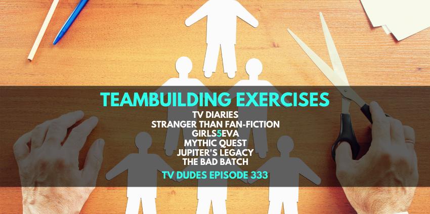 Teambuilding Exercises show art