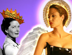 Angelina Jolie & Kate Hepburn: Honesty & Lesbian Flings Are Sexy