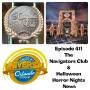 Artwork for UUOP #411 - The Navigators Club & Halloween Horror Nights