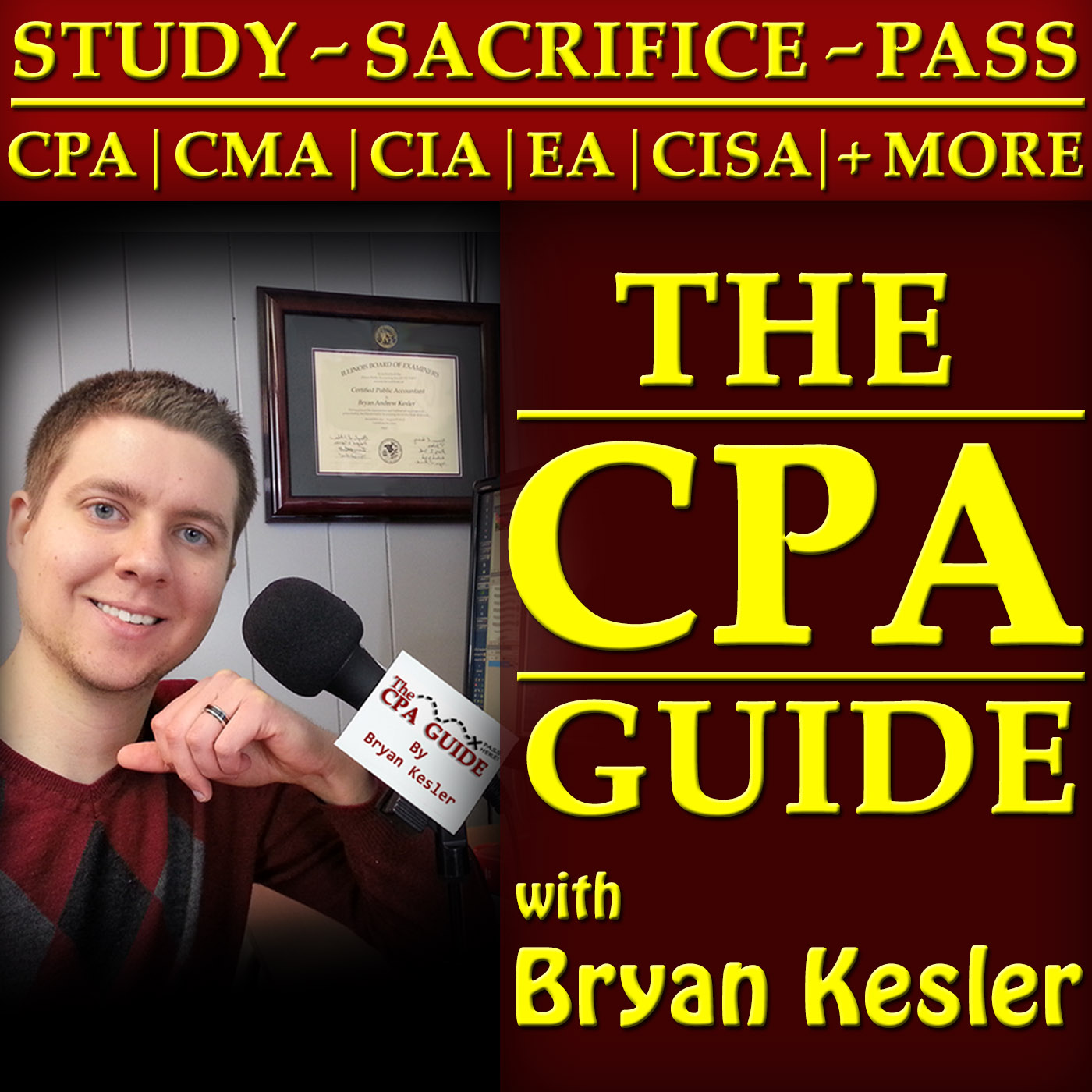 Artwork for 004:  Surviving The CPA, The Big Four, & Marriage!