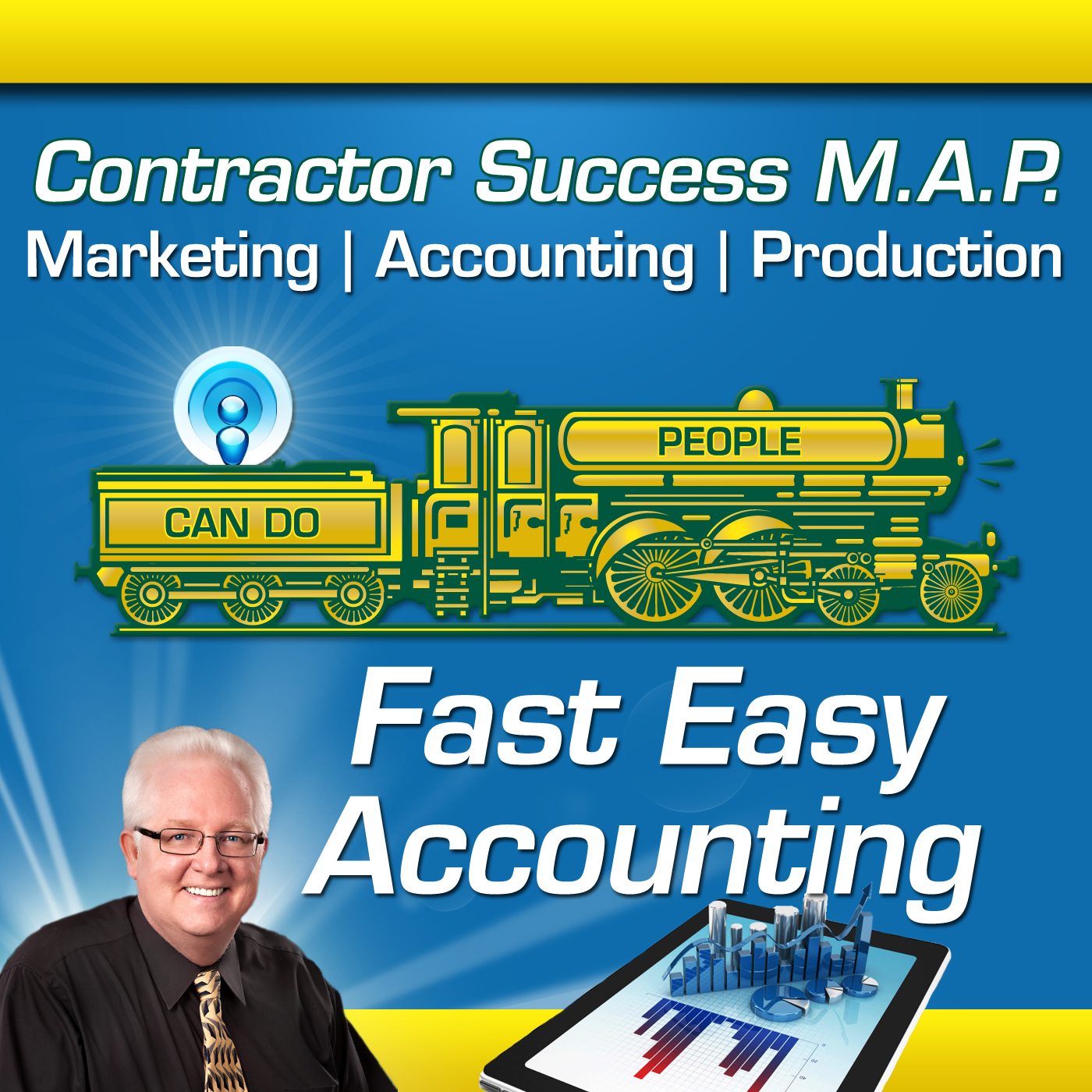 Artwork for 0096: Contractors Success Map Bookkeeper Vs Accountant Vs CPA For Your Construction Company