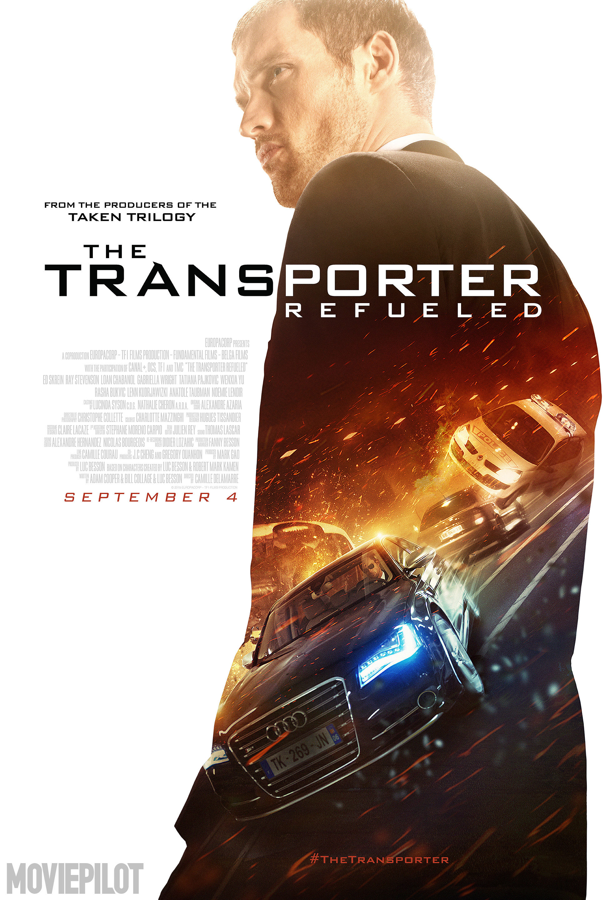 Transporter Refueled / Replacement Actors