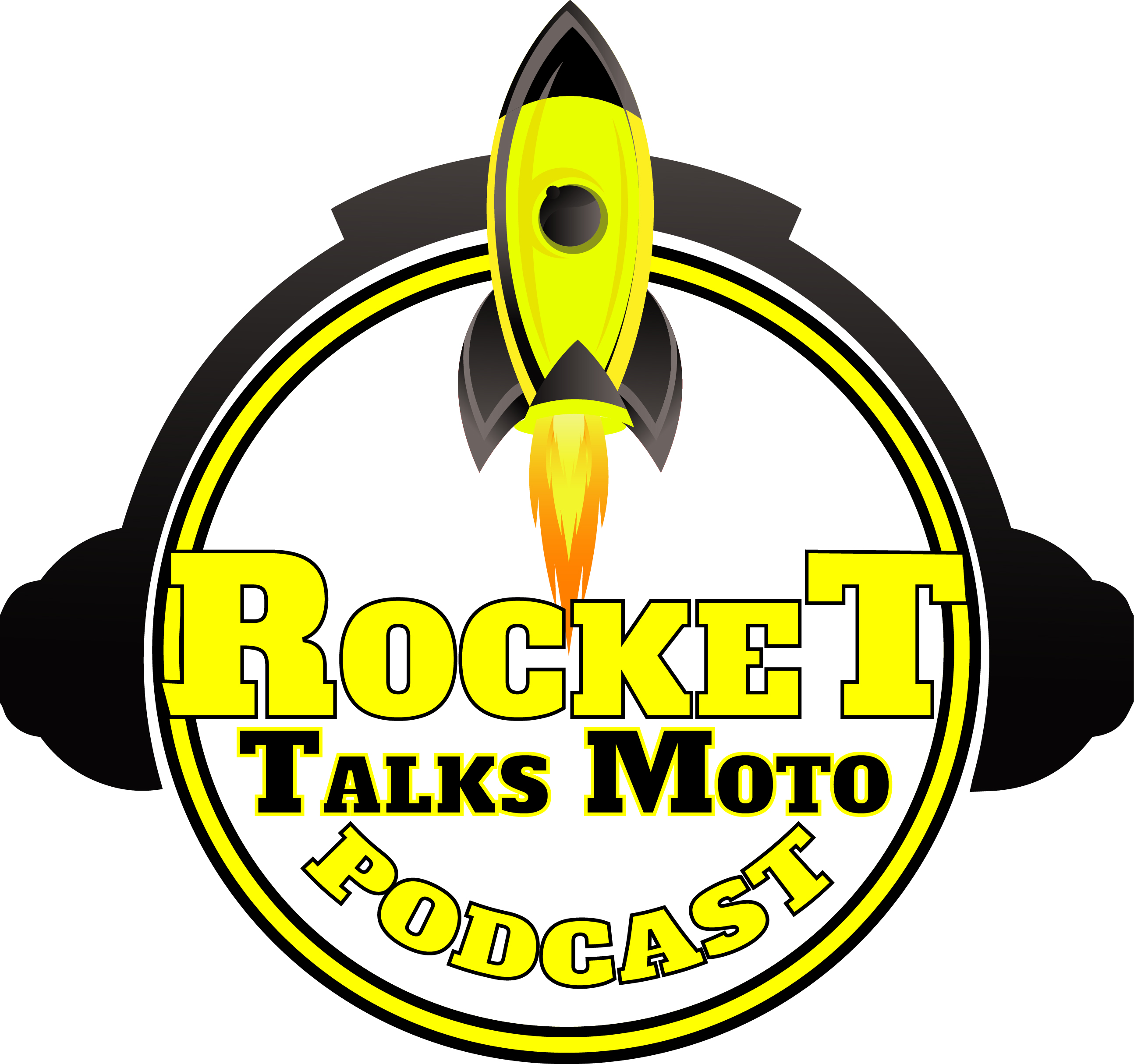 Rocket Talks Moto show art