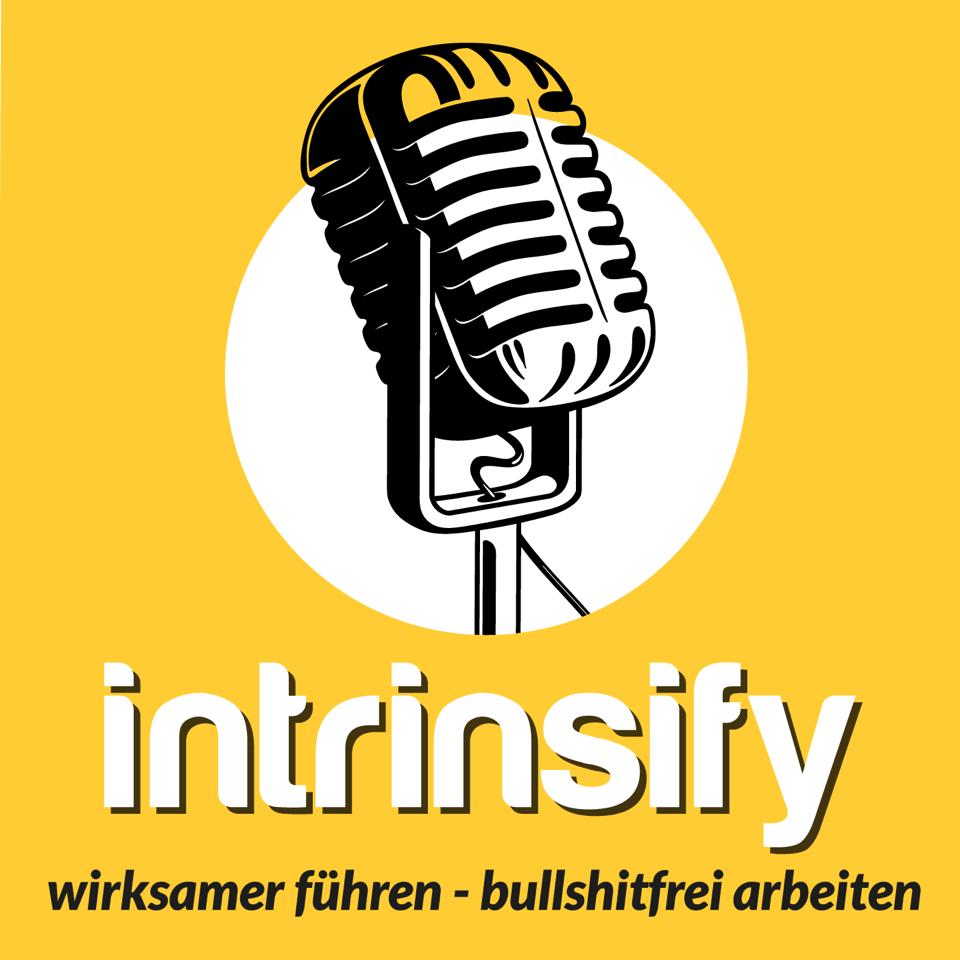 Der intrinsify Podcast: Wirksamer führen, bullshitfrei arbeiten show art