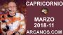 Artwork for CAPRICORNIO MARZO 2018-11-11 al 17 Mar 2018-Amor Solteros Parejas Dinero Trabajo-ARCANOS.COM