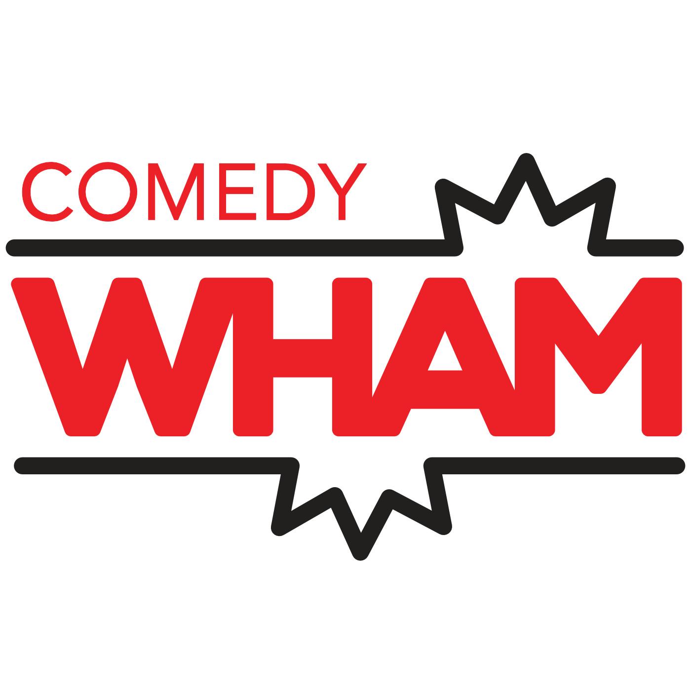 Comedy Wham Presents show art