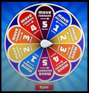 Spin the wheel.