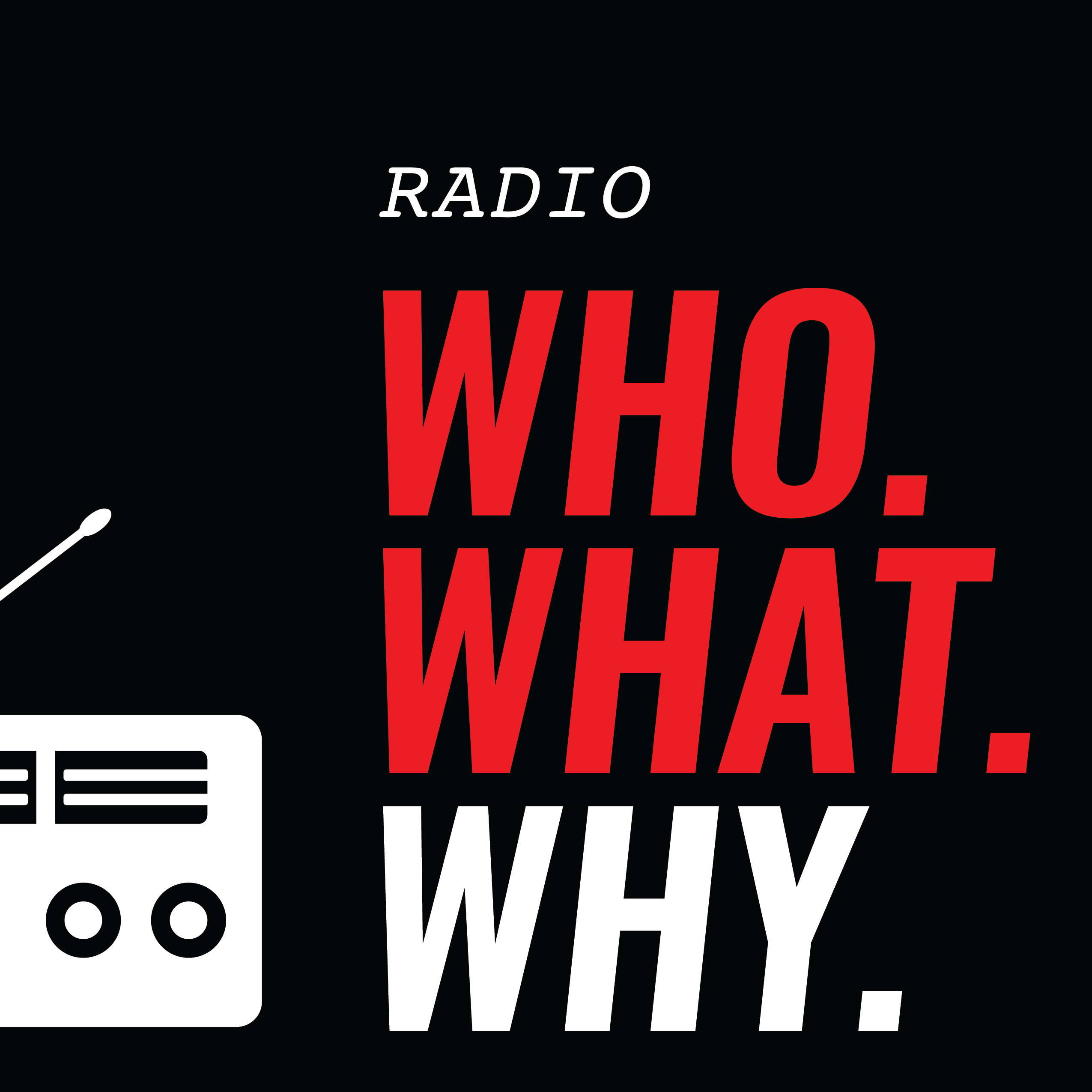 WhoWhatWhy's Podcasts show art