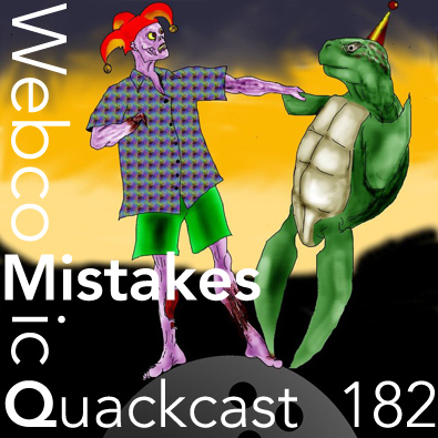 Episode 182 - Biggest mistakes made in starting a webcomic