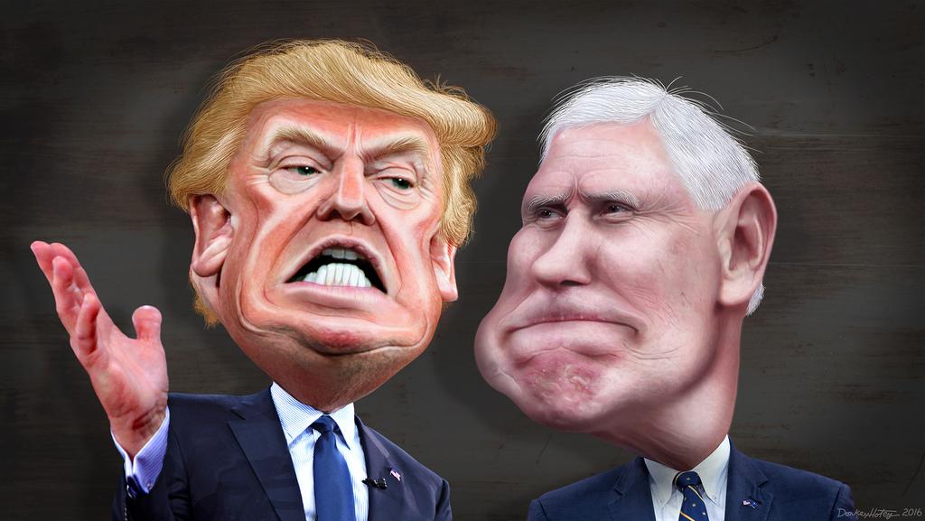 Artwork for Trump's #Debates2016 Facial Expressions!