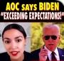 Artwork for AOC Gaslights Progressives Defending Biden