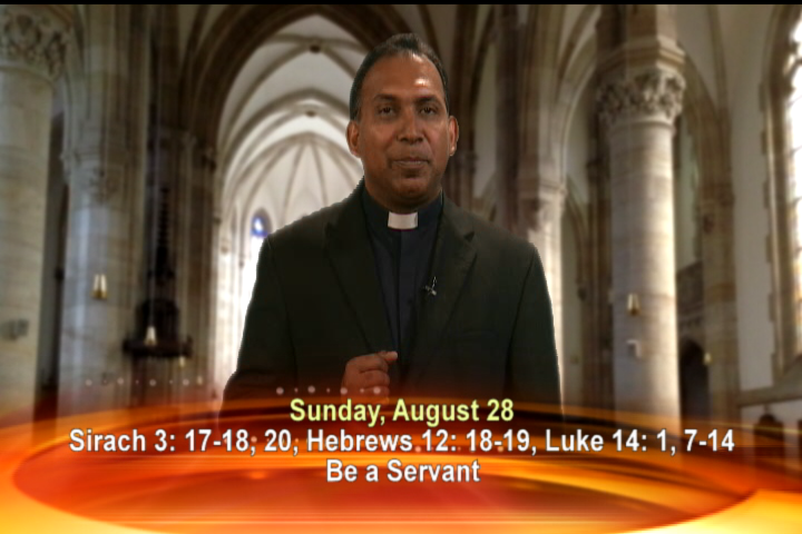 Artwork for Sunday, August 28,2016  Today's Topic: Be a Servant