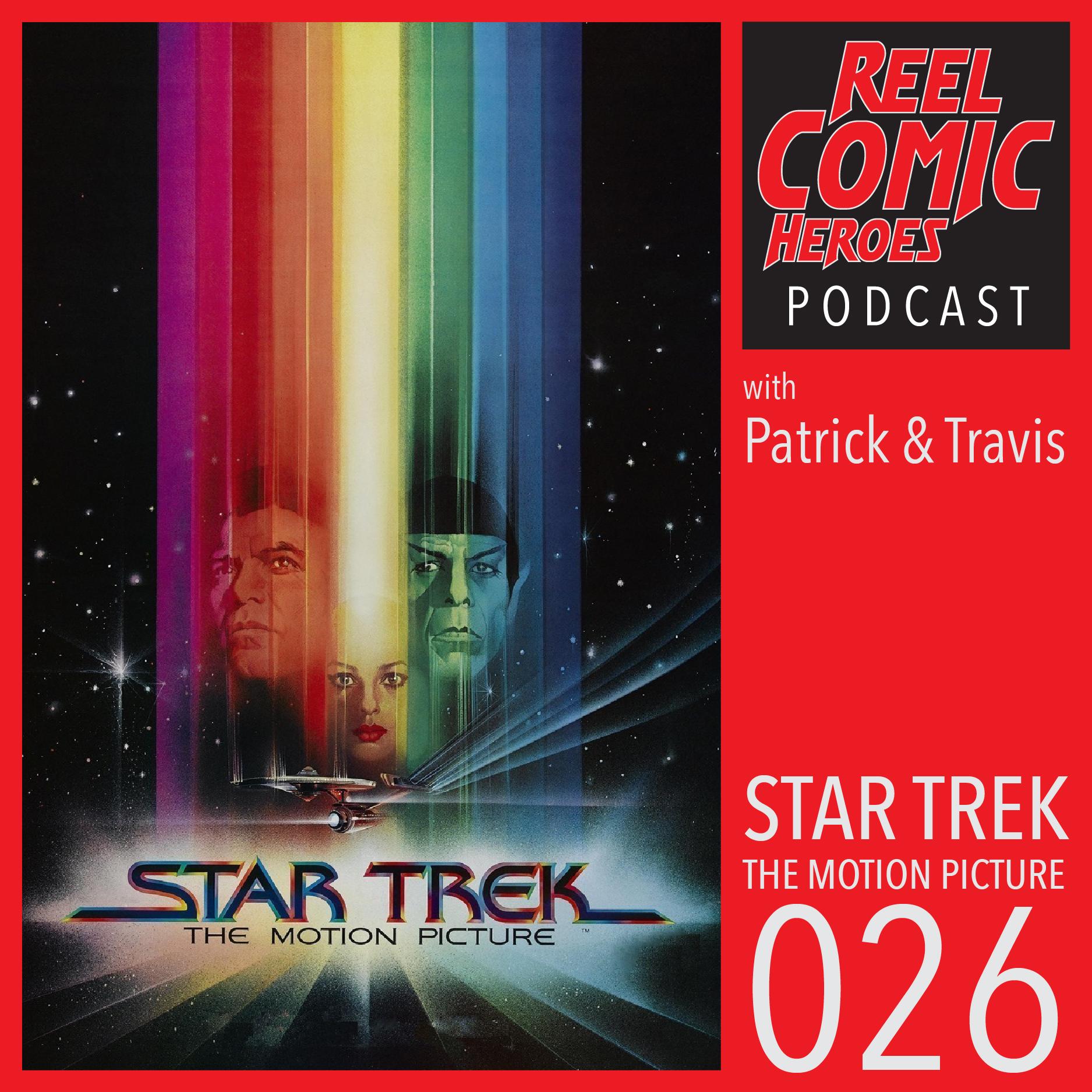 Artwork for Reel Comic Heroes 026 - Star Trek: The Motion Picture