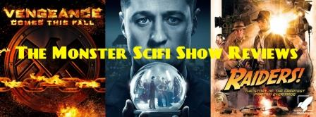 The Monster Scifi Show Podcast - Agents of Shield and Gotham Season Openers and Raiders!