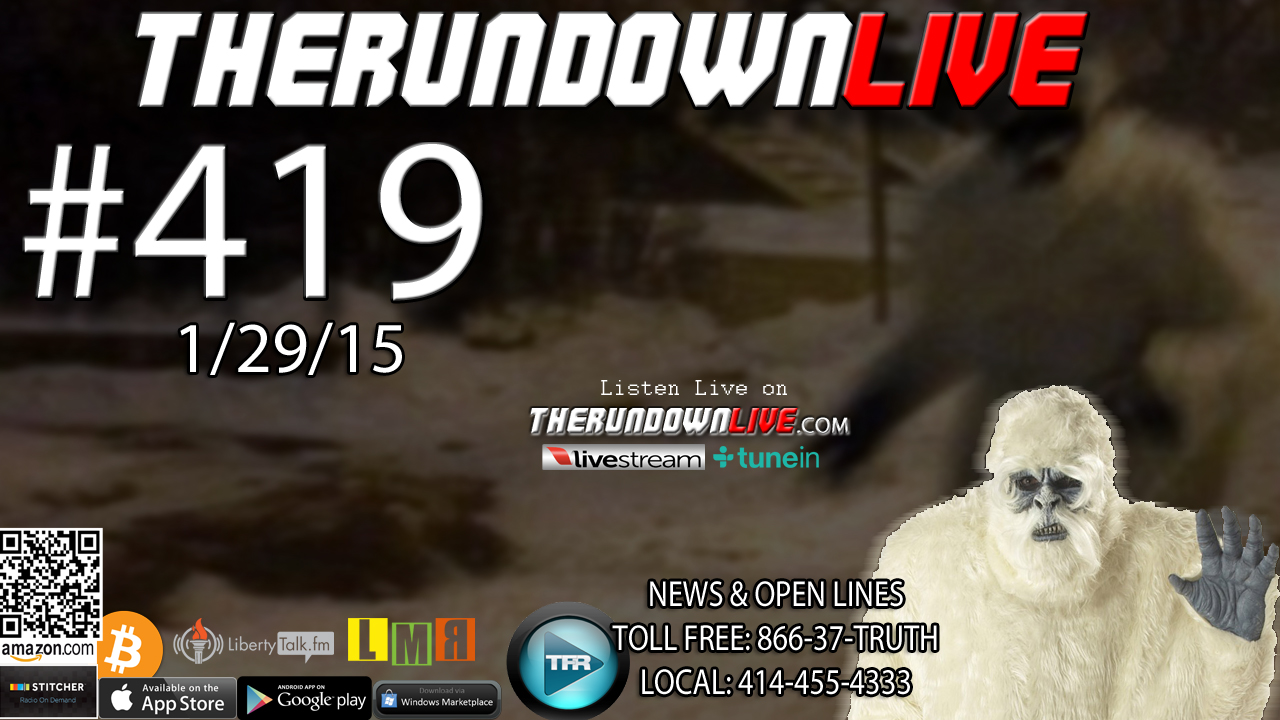 The Rundown Live #419 Open Lines (Kissinger,911,Robots)