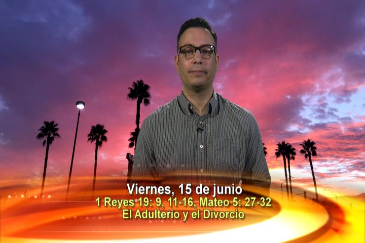 Artwork for Dios te Habla con Elder Samaniego;  Tema el hoy: El Adulterio y el Divorcio