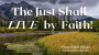 Artwork for The Just Shall LIVE By Faith