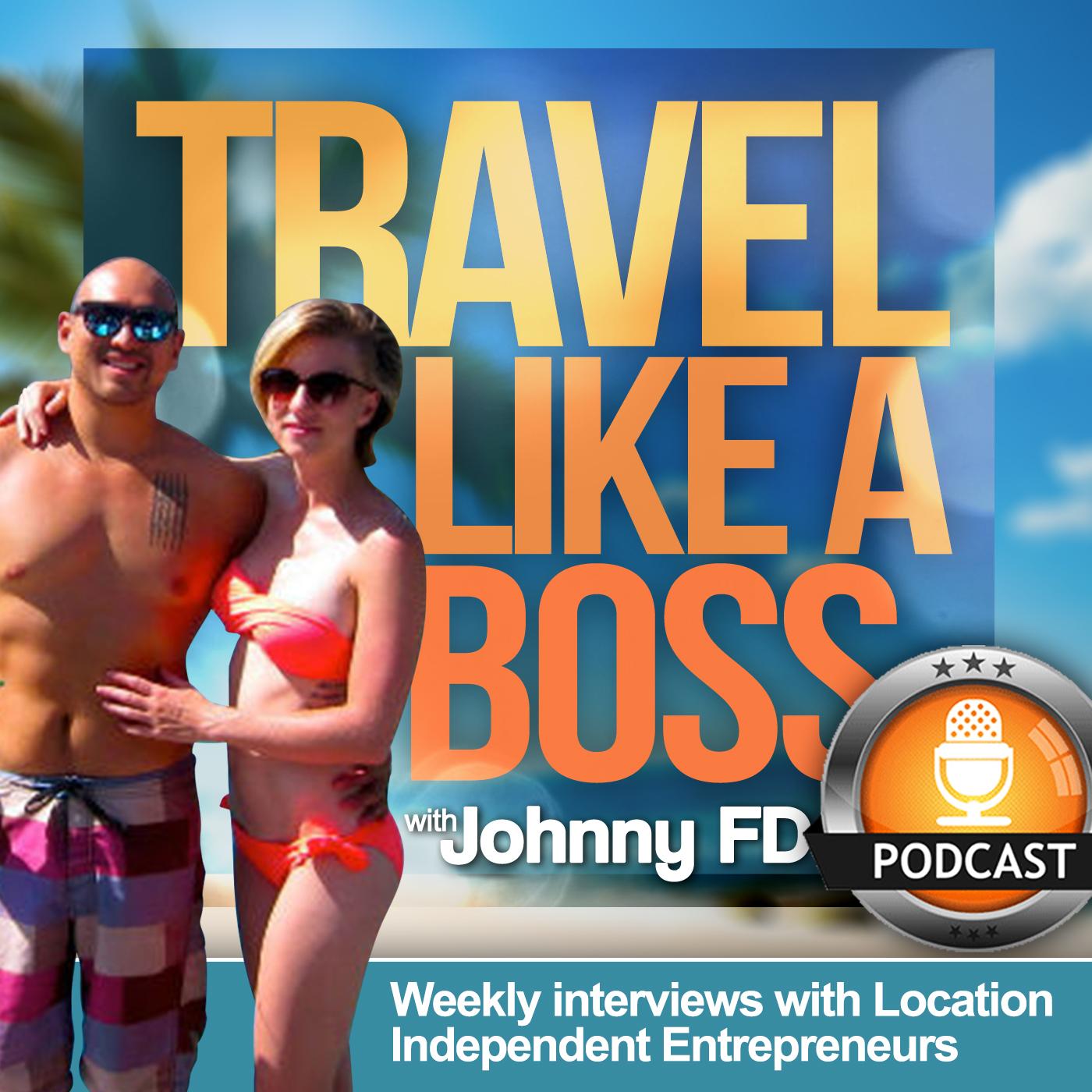 Travel Like a Boss Podcast show art