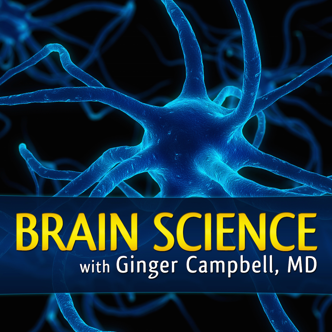 Brain Science with Ginger Campbell, MD: Neuroscience for Everyone show art