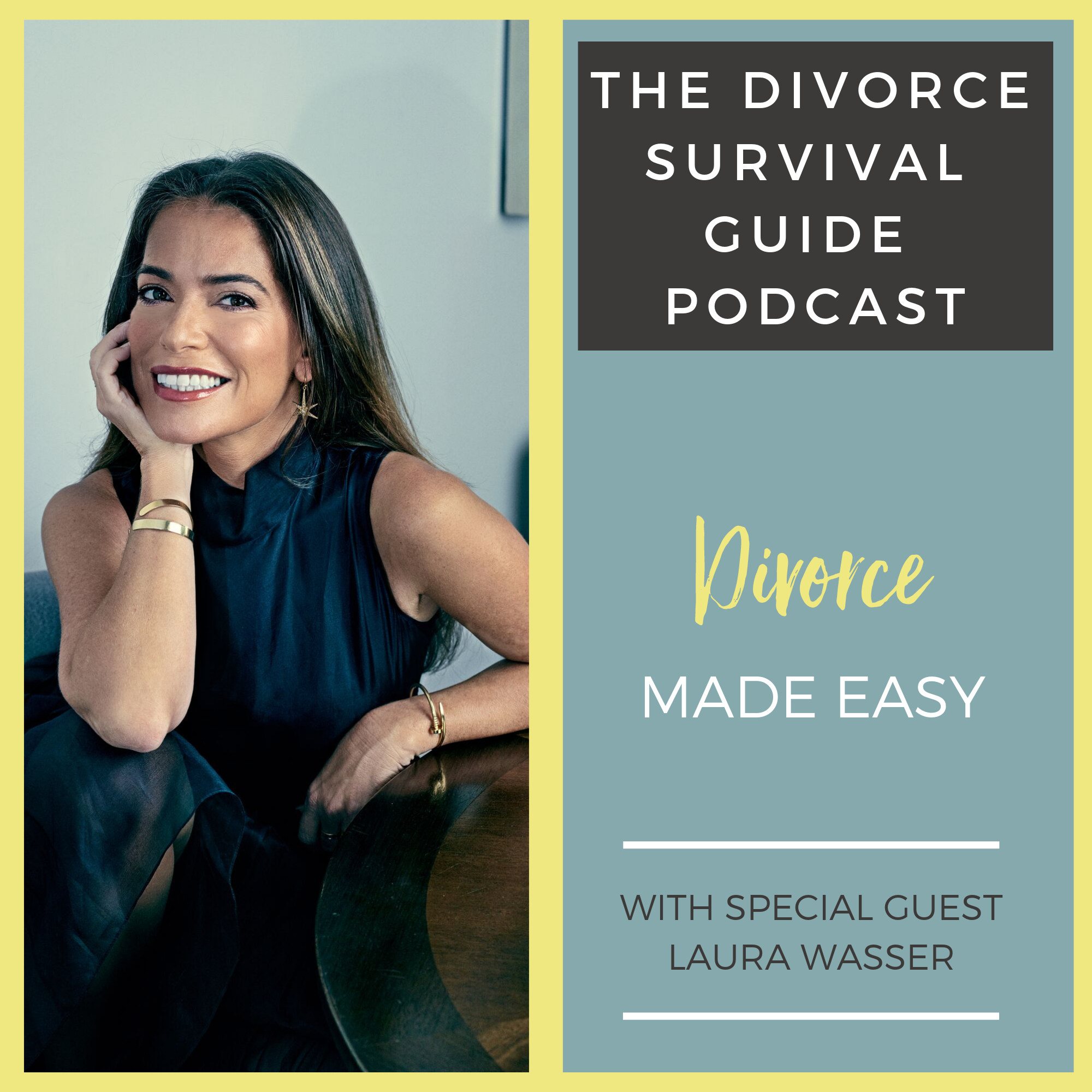The Divorce Survival Guide Podcast - Divorce Made Easy with Laura Wasser