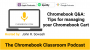 Artwork for Chromebook Q&A - Tips for managing your Chromebook Cart