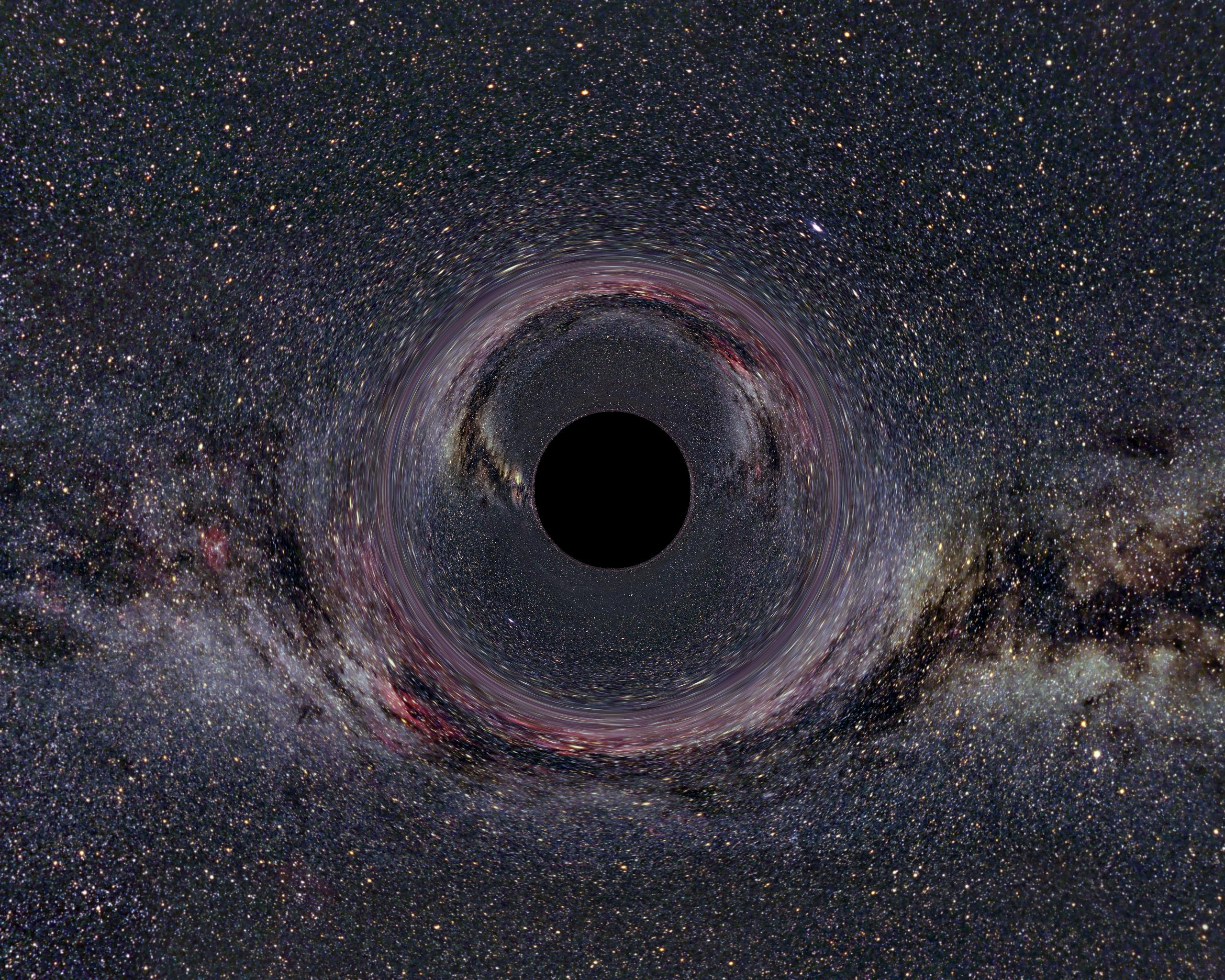 Black hole visualization