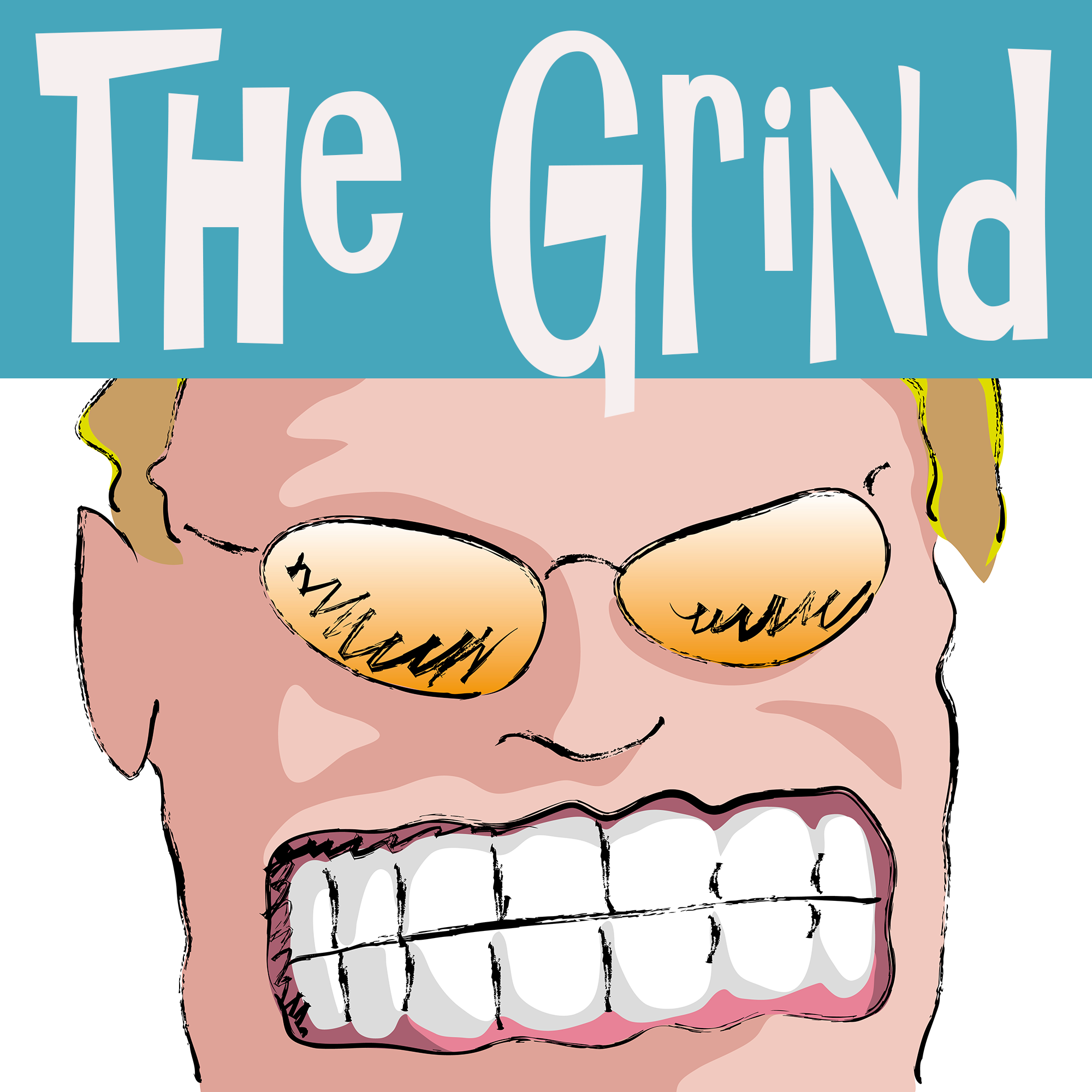 The Grind show art