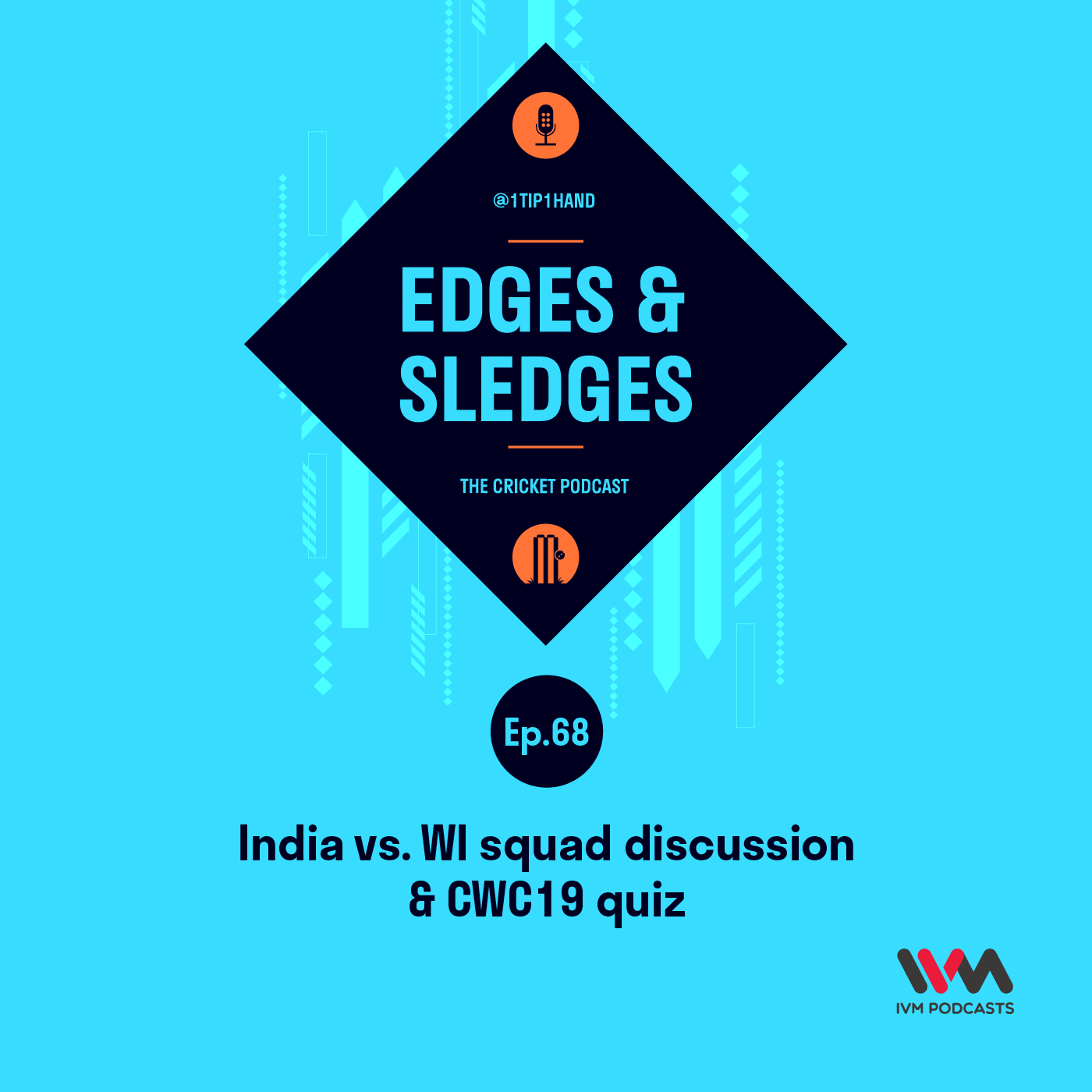 Ep. 68: India vs. WI squad discussion & CWC19 quiz