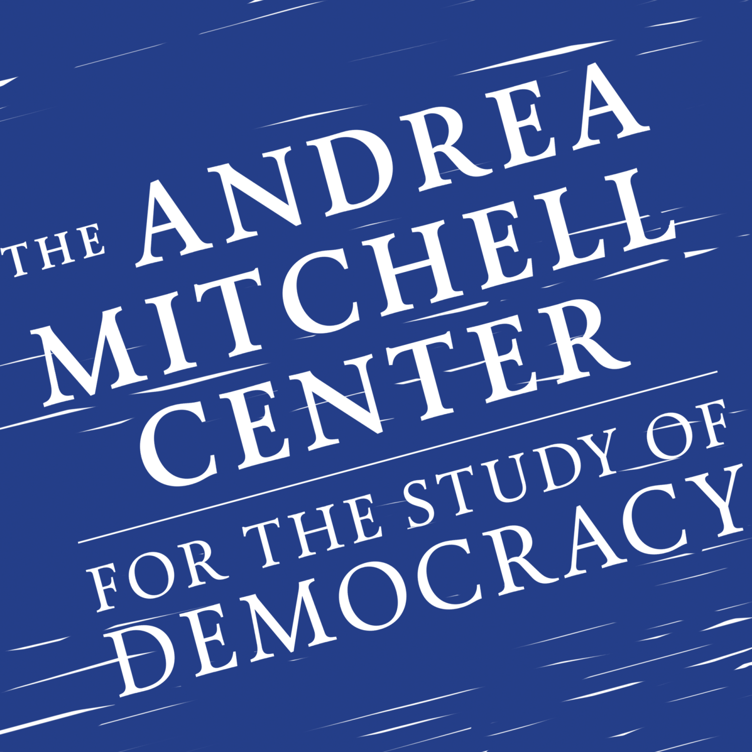 The Andrea Mitchell Center Podcast show art