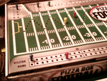 Show #9.5 Session Report: Pizza Box Football