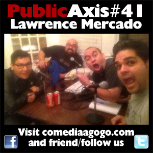 Public Axis #41: Lawrence Mercado