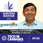 Artwork for Helping Lead Cannabis Retailers to Success -  Sarvesh Mathur of Greenbits