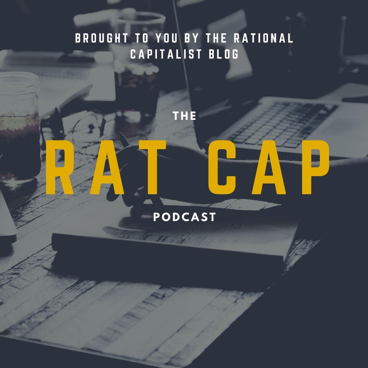 The Rat Cap Podcast show art