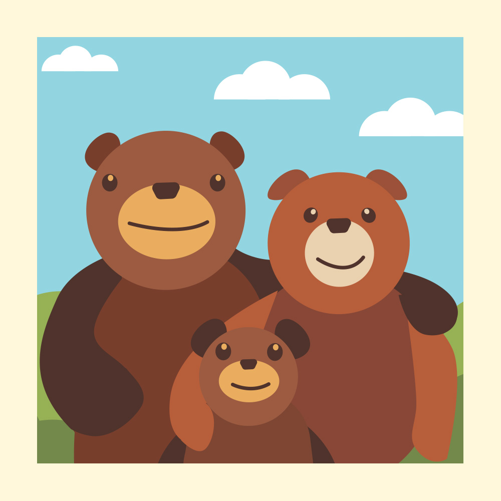 Goldilocks and the Three Bears - A Fairytale for Kids - Storytelling Podcast for Kids: E43