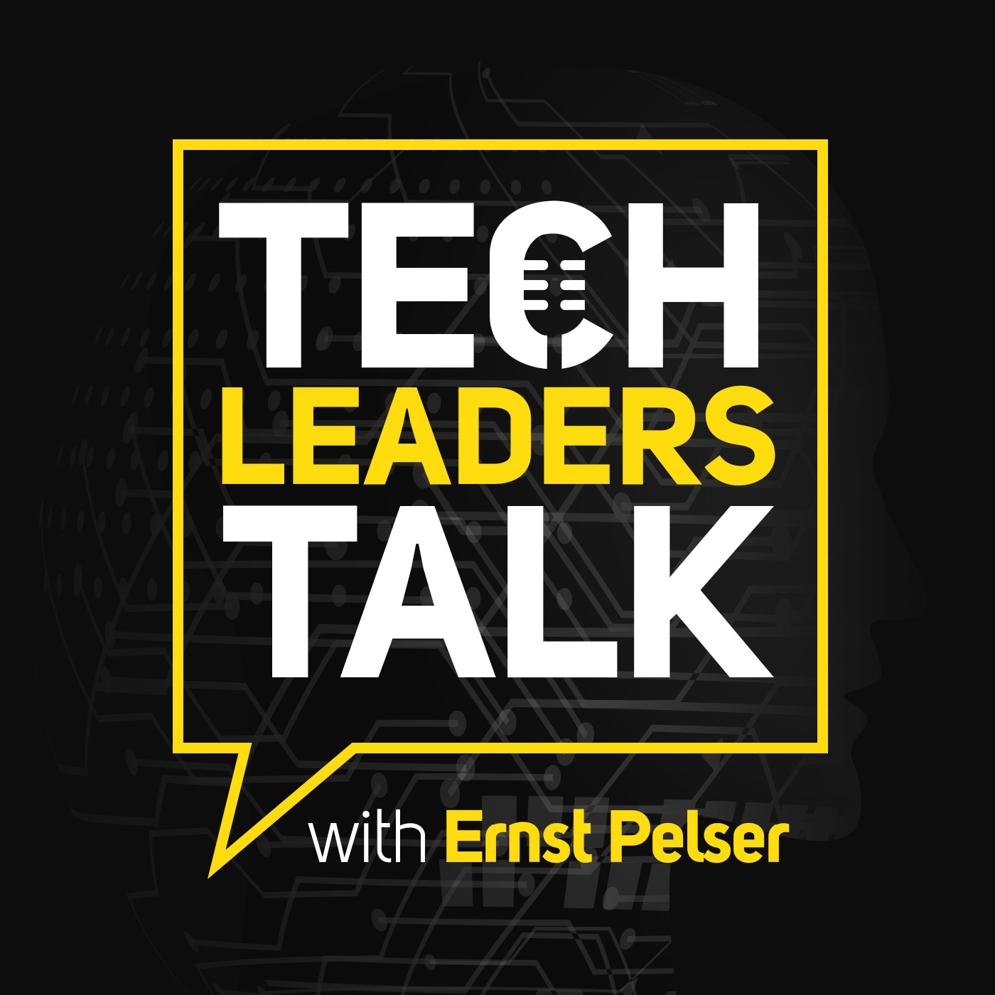 Tech Leaders Talk podcast show art